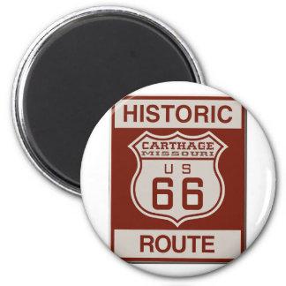Imán Ruta 66 de Cartago