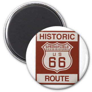 Imán Ruta 66 de Springfield