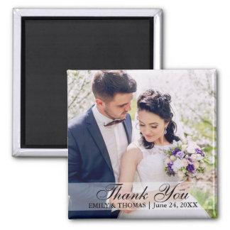Imán S W de la foto de novia y del novio del boda