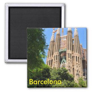 Imán Sagrada Familia en Barcelona, España