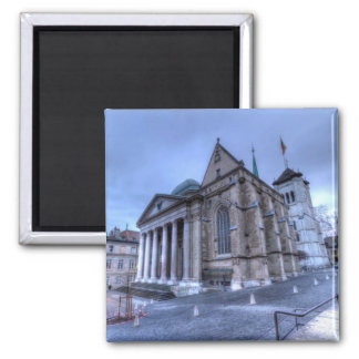 Imán Saint Pierre de la catedral, Peter, Ginebra, Suiza