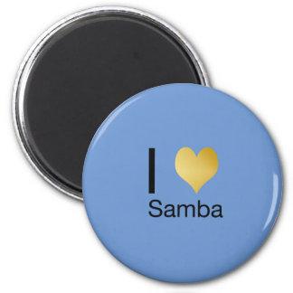 Imán Samba juguetónamente elegante del corazón de I