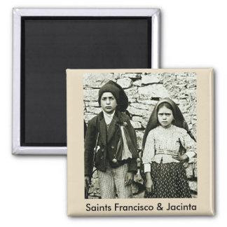 Imán Santos Francisco y Jacinta de Fátima