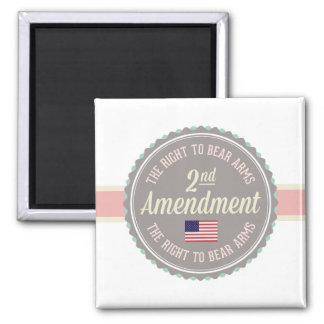Imán Segunda enmienda