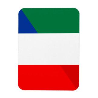 Iman símbolo del país de la bandera de Italia Francia