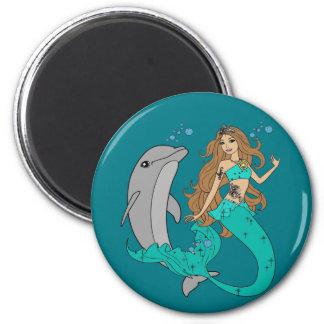 Imán Sirena con el delfín
