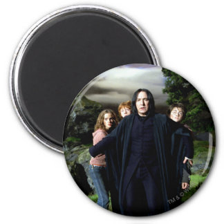 Imán Snape Hermoine Ron Harry