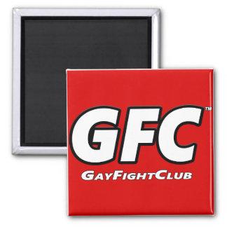 Imán sólido del refrigerador de GayFightClub™