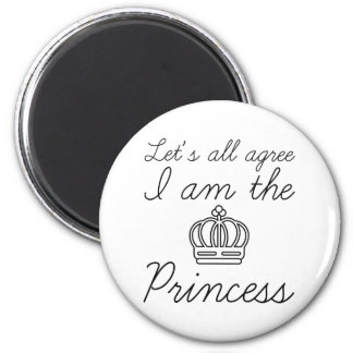 Imán Soy la princesa
