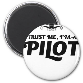 Imán Soy piloto