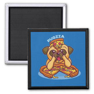 Imán Sr. Pugzza el barro amasado de la pizza