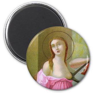Imán St. rosado Agatha (M 003)