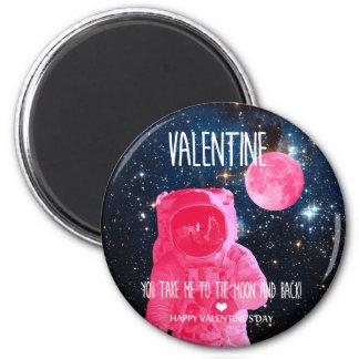 Imán ¡Tarjeta del día de San Valentín, usted me toma a