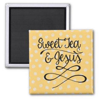 Imán Té y Jesús dulces