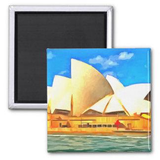 Imán Teatro de la ópera hermoso de Sydney