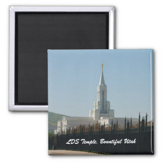 Imán Templo de LDS, Utah generoso