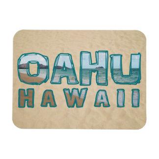 Iman Texto de la foto de la playa de Oahu Hawaii