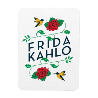 Iman Tipografía floral de Frida Kahlo el |