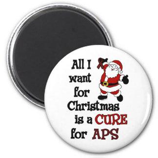 Imán Todos lo que quiero para el navidad… APS