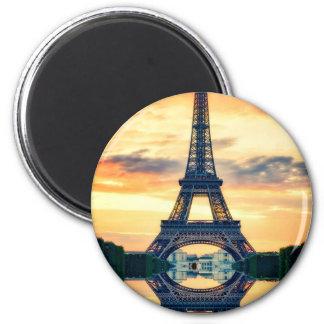 Imán Torre Eiffel París que iguala viaje europeo