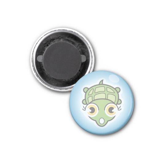 Imán Tortuga en una burbuja