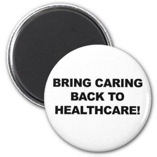 Imán Traiga cuidar de nuevo a atención sanitaria