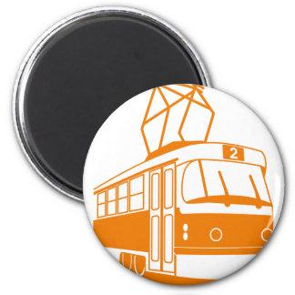 Imán Transporte del tranvía eléctrico