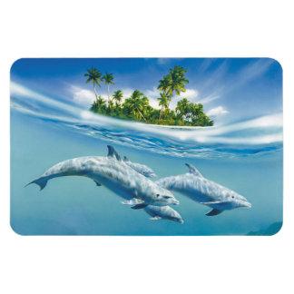 Imán tropical de Flexi de la fantasía de la isla