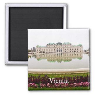 Imán Turismo del viaje del vintage de Viena
