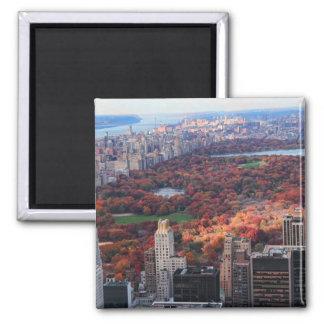 Imán Una visión desde arriba: Otoño en el Central Park