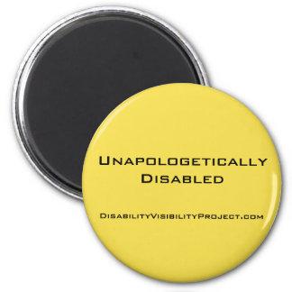 """Imán """"Unapologetically inhabilitó"""" el botón amarillo, 2"""