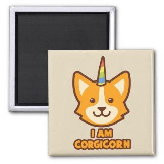 Imán Unicornio del Corgi - CORGICORN