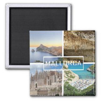 imán varias fotos de la isla de Mallorca