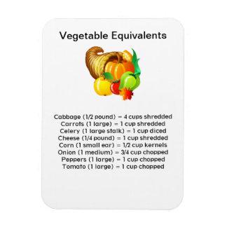 Imán vegetal de Flexi de los equivalentes