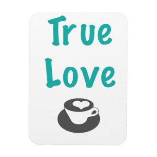 Imán verdadero del café del amor