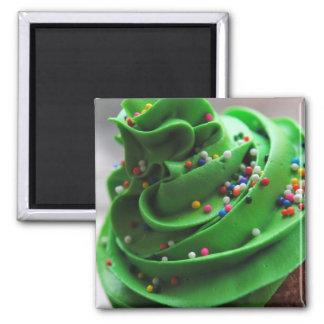 Imán verde de la fotografía de la magdalena