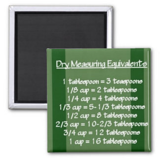 Imán verde de medición seco de los equivalentes