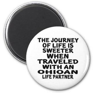 Imán Viajado con un socio de la vida de Ohioan