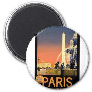 Imán Viaje París Francia del vintage