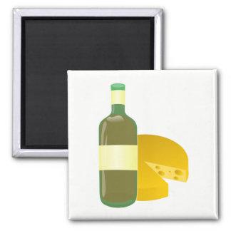 Imán Vino y queso