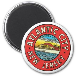 Imán Vintage Atlantic City NJ
