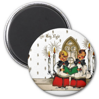 Imán vintage-santa-christmas-post-cards-0029