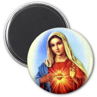 Imán Virgen María bendecido - madre de dios