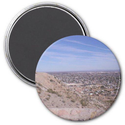 Imán, vista de El Paso