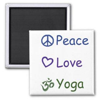 Imán Yoga del amor de la paz