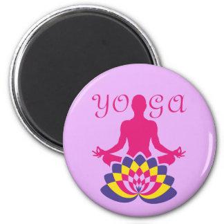 Imán Yoga Flor de Loto