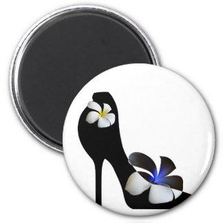 Imán Zapatos de tacón alto elegantes negros. Fantasía