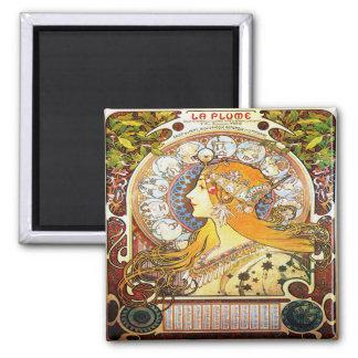 Imán Zodiaco 1896 de Alfons Mucha