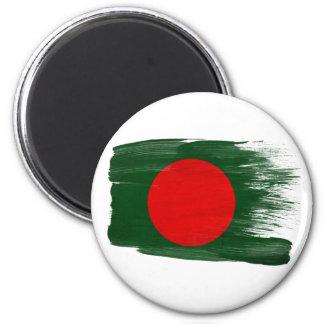 Imanes de la bandera de Bangladesh Imán Redondo 5 Cm