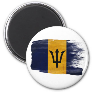 Imanes de la bandera de Barbados